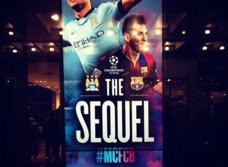 The sequel ovvero City-Barça, again