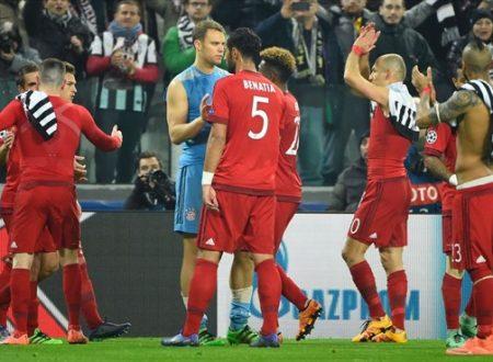 Orgoglio e dignità – Juve v Bayern 2-2